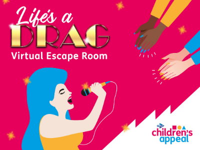 Life's a drag virtual escape room