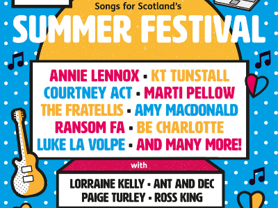 Songs for Scotland summer festival line up