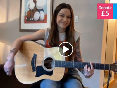Amy Macdonald plays for STV Childrens Appeal