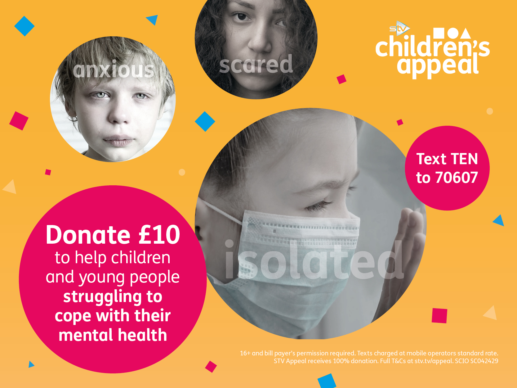 Mental health campaign card