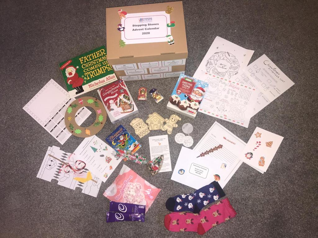 Activity packs were provided to families thanks to funding from STV Children's Appeal