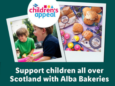 support children all over Scotland with Alba bakeries